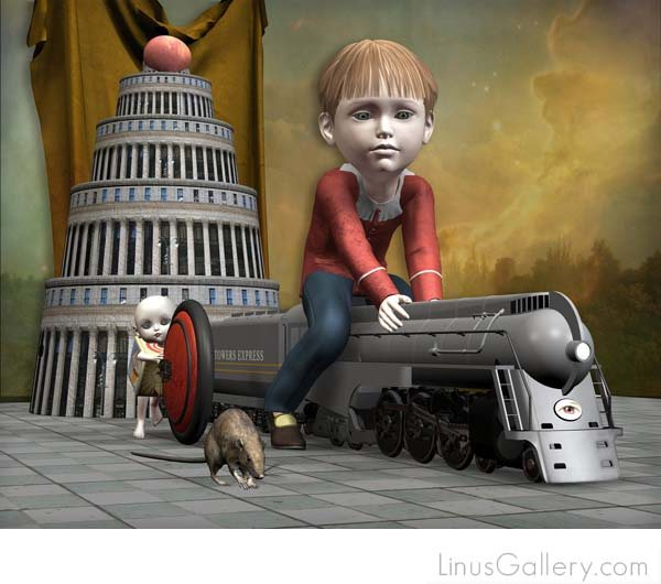 los angeles art gallery move 600x530 On the Move Artist Don Bergland | Exodus