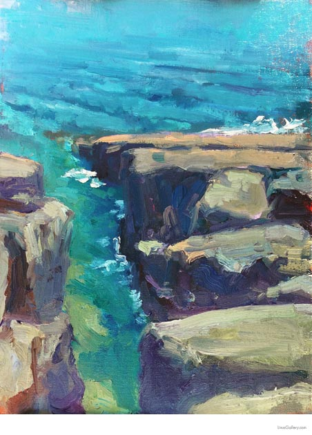 reflecting juried art competitions wysocki Reflections Artist Stephen Wysocki | Stoney Point Crevice