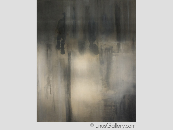 los angeles, linus galleries, abstract painter